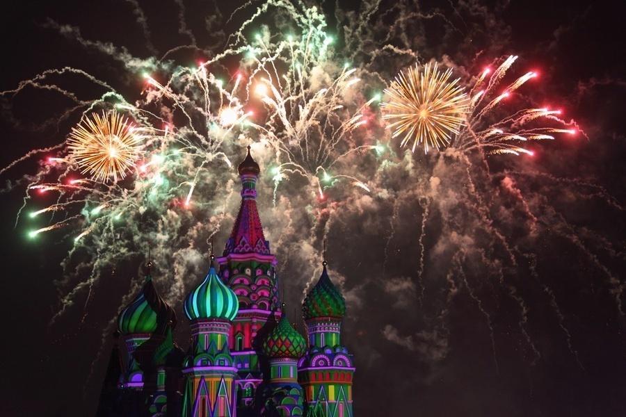 Москва — город, где создается история