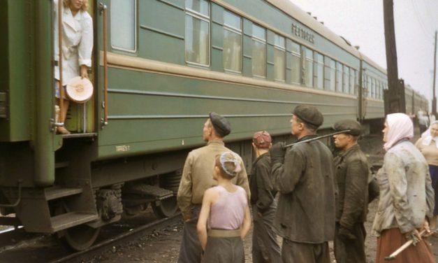 Как был устроен вагон ресторан СССР?