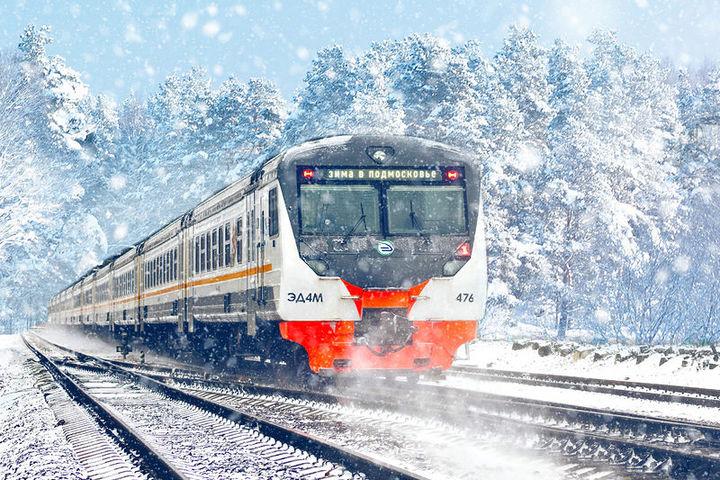 Восемь праздничных «Зимних экспрессов» будут курсировать между столицей и Подмосковьем