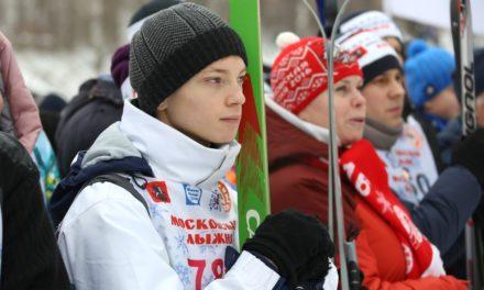 Студенты Московского колледжа железнодорожного транспорта приняли участие в «Московской лыжне»