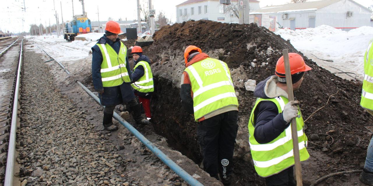 Общественники Московского областного регионального отделения – филиала МОО «Железнодорожный транспорт» ознакомились с ходом работ по строительству подземного пешеходного перехода на станции «Подсолнечная».