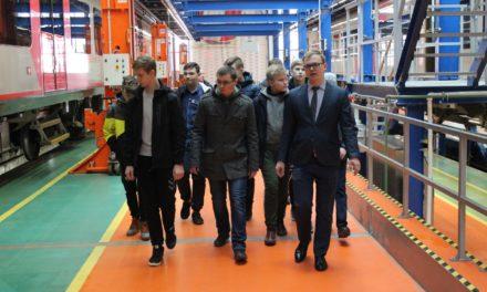 Юные железнодорожники городского округа Солнечногорск посетили экскурсионный тур в депо «Подмосковная»